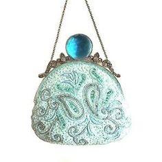 . Vintage Purses, Vintage Bags, Vintage Handbags, Beaded Purses, Beaded Bags, Clutch Purse, Coin Purse, Leila, Fashion Accessories
