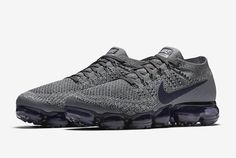 The Nike Air VaporMax In Dark Grey And Obsidian http://feedproxy.google.com/fashionshoes1