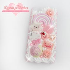 """ SHOP: Kawaii x Couture Decoden  Handmade decoden phone cases, jewelry, & accessories ♡  """