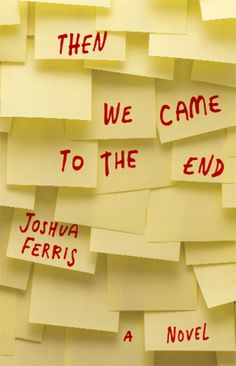 """Joshua Ferris - amazing book cover, supposed to be related to """"overdetermination theory"""" according to the Guardian - really?"""