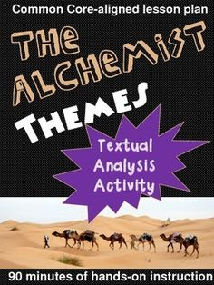 the alchemist a graphic novel reading material the alchemist themes textual analysis activity
