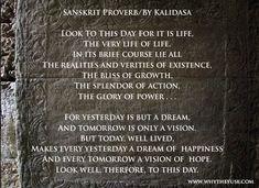 Sanskrit, Proverbs, Bliss, Addiction, Day, Idioms