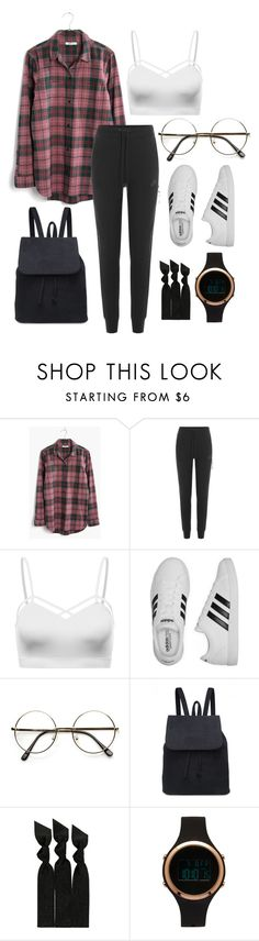 """casual.0.29"" by joannachavez8 on Polyvore featuring Madewell, NIKE, adidas, ZeroUV, Emi-Jay and Aéropostale"