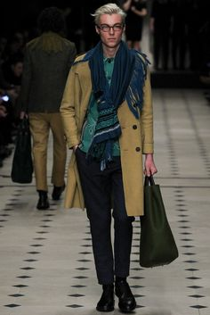 Burberry Prorsum - Fall 2015 Menswear - Look 5 of 49