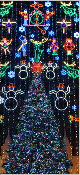 Iconic Events at Macy's Center City in Philadelphia (Christmas Light Show)