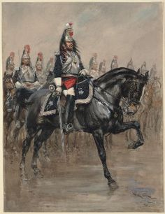 French Guard cavalry, 2nd Empire