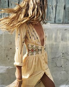BOHO BEAUTY sabo summer sun dress