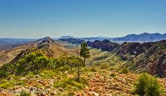 The Larapinta Trail in the west MacDonnell Ranges of the Northern Territory, Australia on Mallory on Travel adventure, adventure travel, pho...