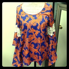 """Selling this """"Peasant smock blouse with paisley pattern"""" in my Poshmark closet! My username is: adarcus. #shopmycloset #poshmark #fashion #shopping #style #forsale #Voom by Joy Han #Tops"""