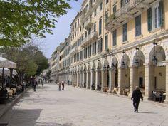 Corfu Liston.... Greece