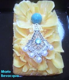 Jewel soap carving by Mario