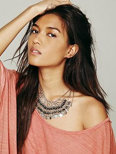 Free People Sunny Bead Collar
