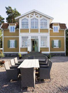 Romantiskt sekelskifte på en ö i skärgården | Leva & bo | Heminredning Allt för Hus & Hem | Expressen