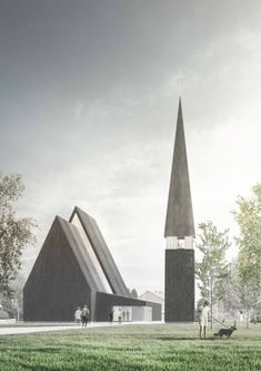Gallery of K2S Architects Wins Competition to Replace Fire-Razed Church in Ylivieska, Finland - 13
