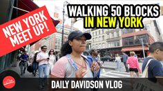 WALKING 50 BLOCKS IN NEW YORK!!