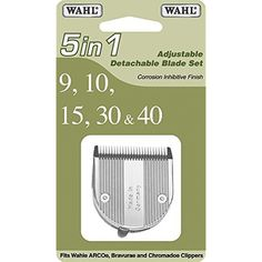 Wahl Professional Animal 5 in1 Fine Blade Set & Clippers Dog Cat Cutting Fast  #Wahl