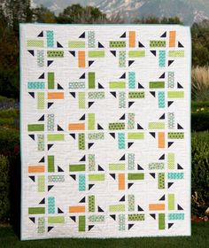Looking for your next project? You're going to love Division Quilt Pattern by designer A Bright Corner.
