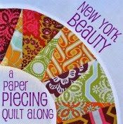 Freshly Pieced: New York Beauty Quilt-Along. I like the way this circle is done.