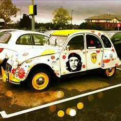 Hippy Citroen 2CV  http://www.pinterest.com/adisavoiaditrev/boards/