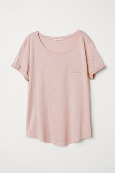 Slub Jersey T-shirt - Antique rose - Ladies Cool Outfits, Summer Outfits, Fashion Outfits, Summer Clothes, Fashion Men, Fall Clothes, Style Clothes, Fashion Fashion, Fashion Trends