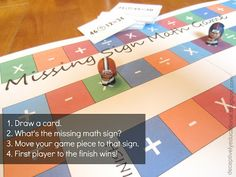 Relentlessly Fun, Deceptively Educational: Missing Sign Math Game