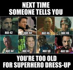 That awkward moment when Jeremy Renner is 28 years older than you and you think he's hot<<< hiddleston is 35
