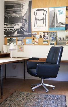 #home #office #workspace   Finn Juhl