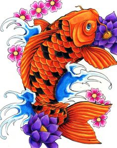 flower tattoo Flower flower tattoo Simple Tribal Flower Design flower tattoo Tattoos flower tattoo Koi Fish flower tattoo Koi and flowers 1 . Japanese Koi Fish Tattoo, Koi Fish Drawing, Fish Drawings, Tattoo Drawings, Pez Koi Tattoo, Koi Tattoo Sleeve, Geisha Tattoos, Koi Art, Fish Art