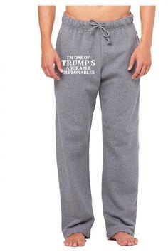 I Am One Of Trumps Adorable Deplorables Sweatpants