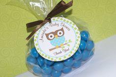 PRINTABLE/DIY  Mod Owl Favor Tags Owl by PartyPaperPrintables, $8.00