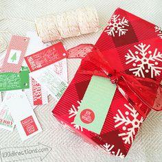 Printable Christmas tags for everyone! I loveChristmas gift tags. I love…