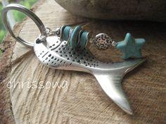Schlüsselanhänger Fisch von chrissona auf DaWanda.com