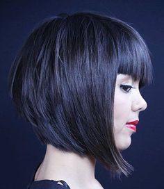 25 mejores peinados de Bob de capas cortas y rectas // #Best #Hairstyles #Layered #Short #Straight