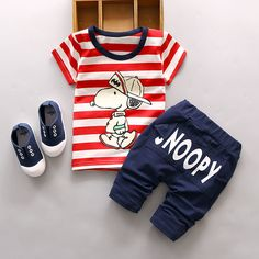 2016 New Summer baby sets boys clothes cotton o-neck shorts with character print children toolders clothing set suit Baby Outfits, Boys Summer Outfits, Toddler Outfits, Kids Outfits, Baby Set, Denim Overall Shorts, Kids Clothes Boys, Kids Clothing, Summer Clothing