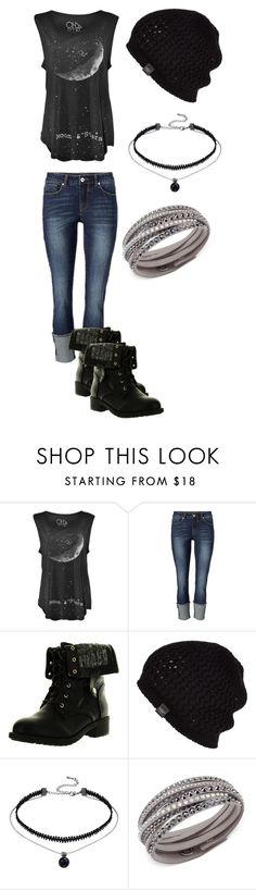 """Rock Concert Outfit"" by mimi-minecrafter on Polyvore featuring Refresh, UGG Australia and Swarovski"