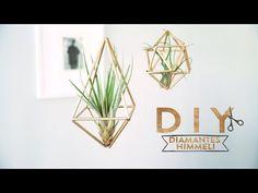 Diamantes Himmeli de color dorado para colgar | DIY Westwing - YouTube