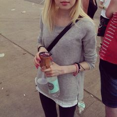 #bråvalla #festival #me #music #outfit #sweden #swedish #blonde #girl #wine #nice #good #lovely #day #grey #Padgram