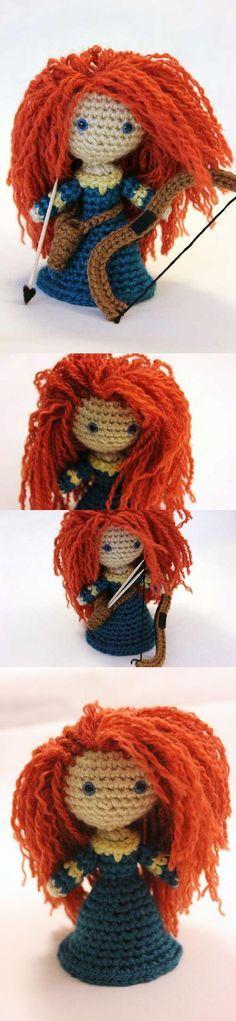 Scottish Warrior Princess Amigurumi Pattern