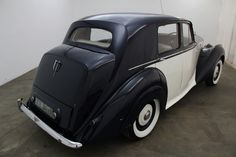 1950 Bentley MK IV, right hand drive, 2 tone blue and white with creme interior, sunroof, excellent example and presentable weekend driver that is mechanically sound. For $19,950  If you have any additional questions Please call 310-975-0272