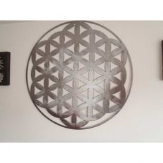 Decoration Originale, Objet D'art, Artisanal, Flower Of Life, Thank You Flowers, Copper Color, Lens Flare, Wall Art, Steel