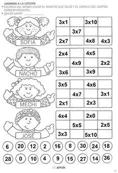 Math Games, Math Activities, Printable Math Worksheets, Math Class, Math For Kids, Elementary Math, Teaching Tools, Teaching English, Multiplication Tables