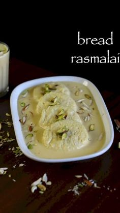 bread rasmalai recipe, bread ki rasmalai with milkmaid, instant rasmalai with step by step photo/video. instant version bengali rasmalai with condensed milk Kulfi Recipe, Jamun Recipe, Chaat Recipe, Easy Indian Sweet Recipes, Indian Dessert Recipes, Indian Recipes, Spicy Recipes, Cooking Recipes, Bread Recipes