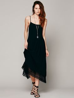 Boho Summer Style Asymmetry Beach Lace Maxi Dress