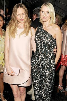 6/12/13: Kate Bosworth and Naomi Watts at Stella McCartney's Garden party. #LookOfTheDay