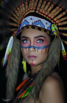 Healthy breakfast ideas for picky eaters food truck near me location American Indian Girl, Native American Girls, American Indians, Native American Makeup, Native American Photography, Festival Makeup Glitter, Foto Top, Native Girls, Beautiful Eyes