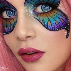 Butterfly🦋tal-peleg-eyelid-art