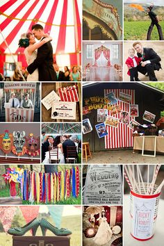 Vintage Circus Wedding Theme | Old World Carnaval Inspiration