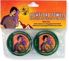 "Lightload Towels Mini Towel - 12"" x 12"" - Package of 2 - REI.com"