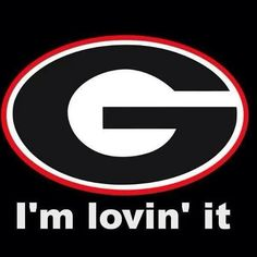 I'm lovin it! Georgia Bulldogs Football, Sec Football, Football Memes, Football Season, College Football, Georgia Girls, Georgia On My Mind, Athens Georgia, University Of Georgia