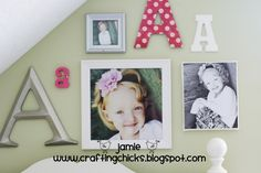 toddler girl room wall decor | photos, kids room, decor, wall decor